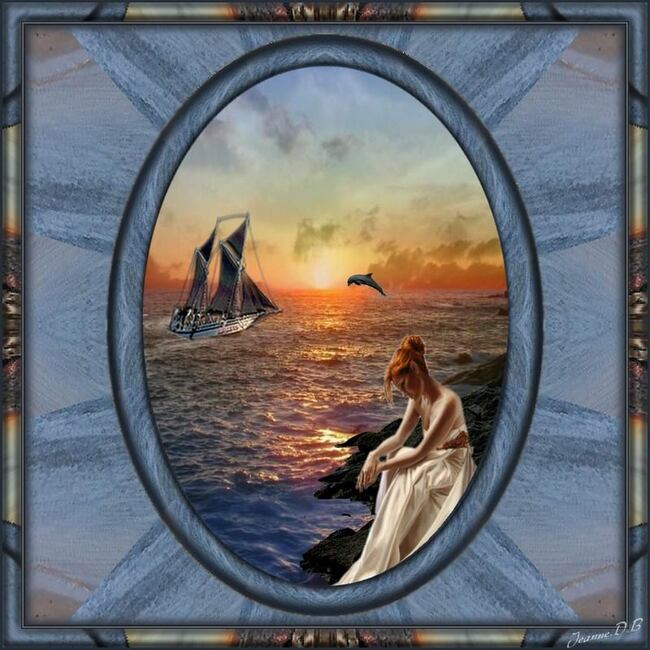 Voyage vers le soleil couchant