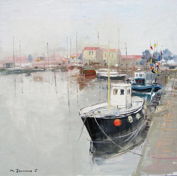 Peinture de : Michel Jouenne