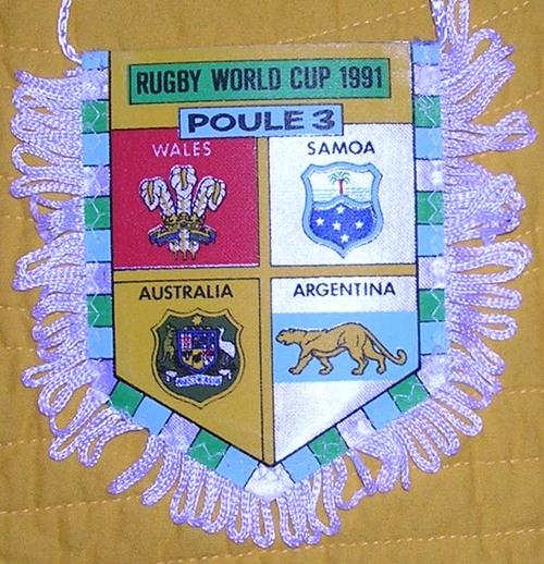 Fanion Poule 3 Coupe du Monde 1991 (21)