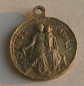 Médaille du sacré cœur de Jésus