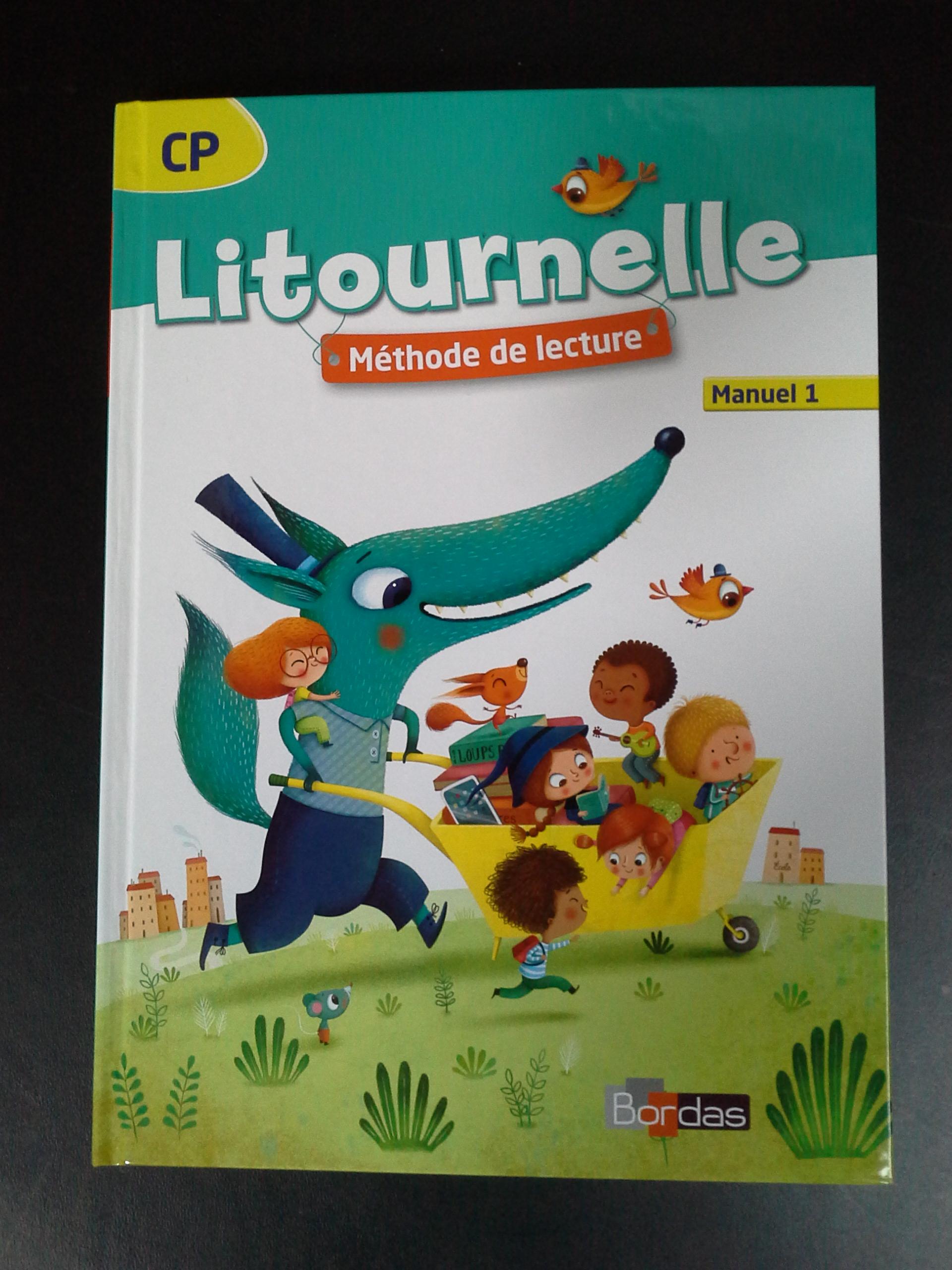 Méthode de lecture CP   Litournelle   Le petit cartable de ...