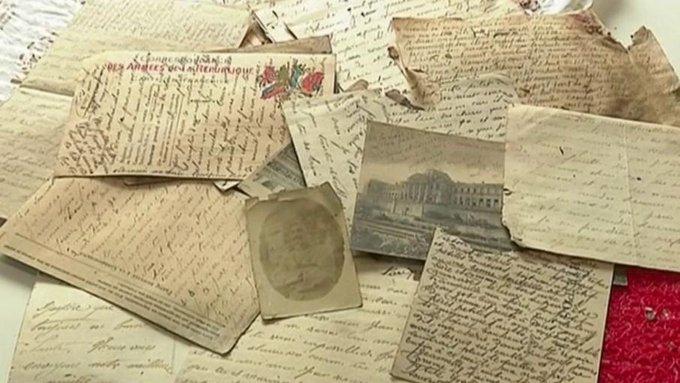 1916 lettres d'un poilu retrouvées fin 2019 !