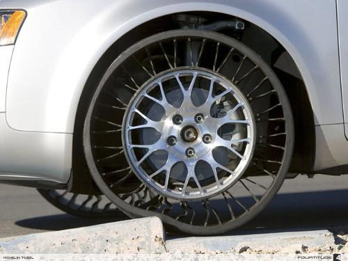Ces nouveaux pneus vont révolutionner la vie future de nos véhicules....
