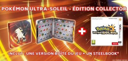 Pokemon Ultra-Soleil et Ultra-Lune | Les SteelBook