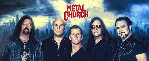 "METAL CHURCH - ""Damned If You Do"" (Clip)"