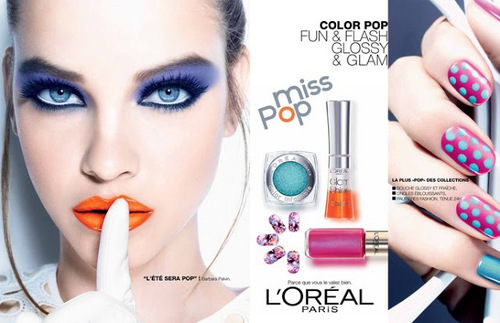 L'Oréal Paris été 2013: Miss POP
