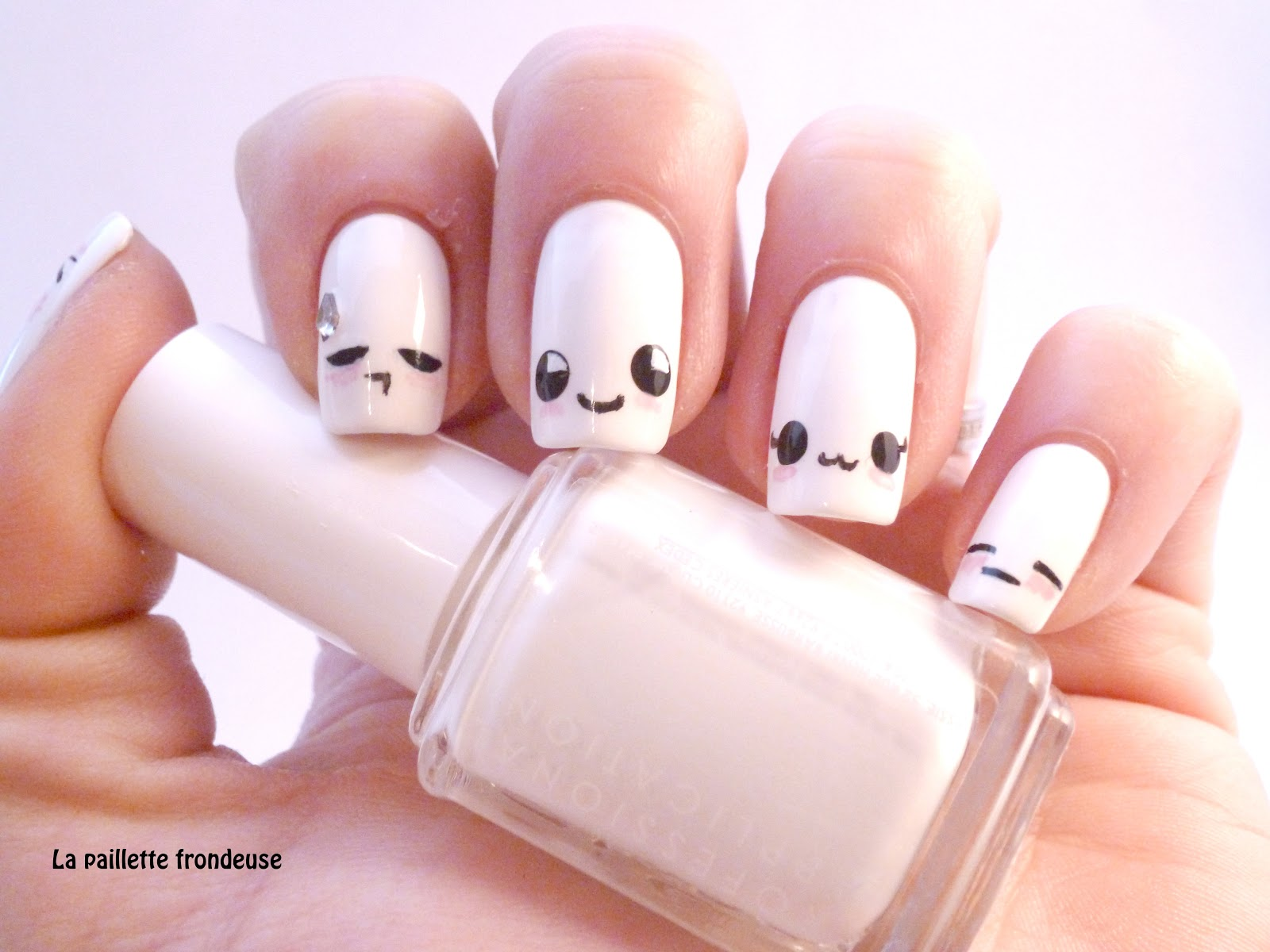 Nail art kawaii !