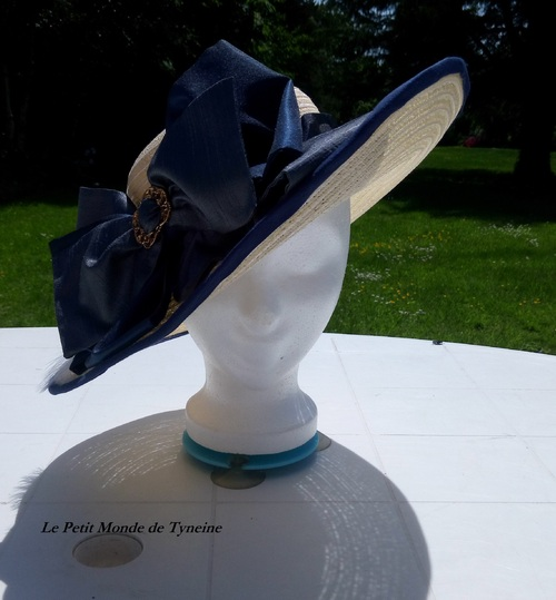 Chapeau Poldark - Inspiration Caroline Penvenen
