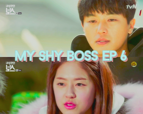 My shy boss six