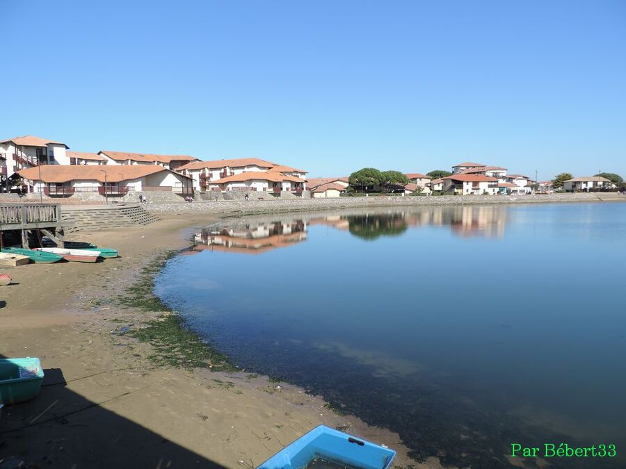 le lac Marin du Vieux-Boucau (40)