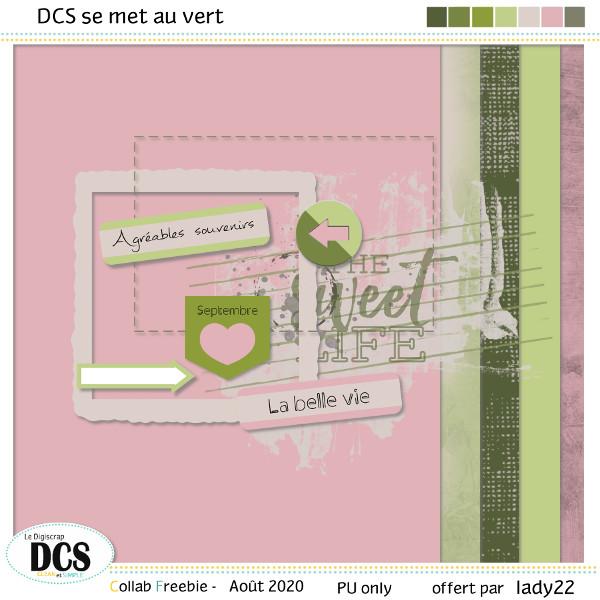 DCS se met au vert