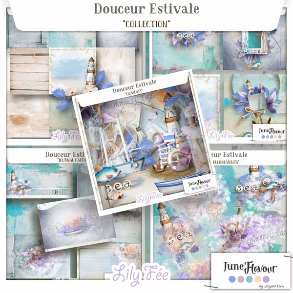 Douceur Estivale {June Flavour} Collection