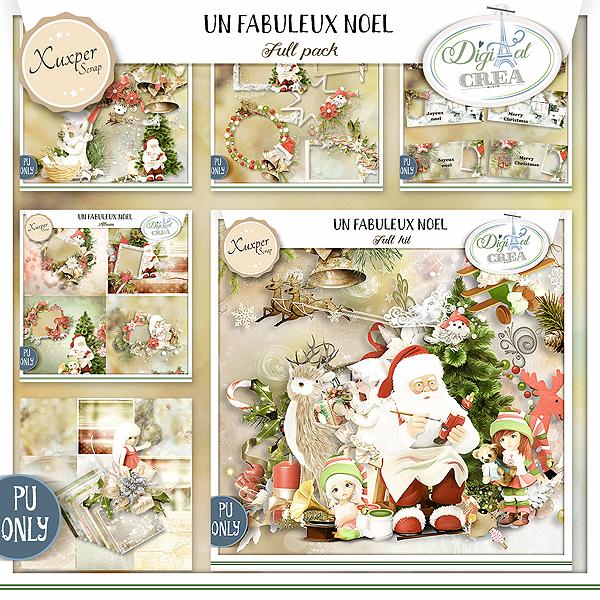 UN FABULEUX NOEL by Xuxper Designs