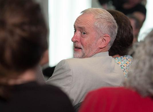 Le leader du parti travailliste, Jeremy Corbyn, à Londres le 25 juin.