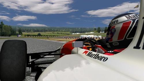 Team McLaren Honda - Honda RA122E B 3.5 V12