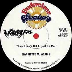 Harriette M. Adams - Your Love's Got A Hold On Me