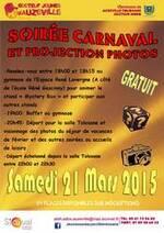 Soirée carnaval et projection photos
