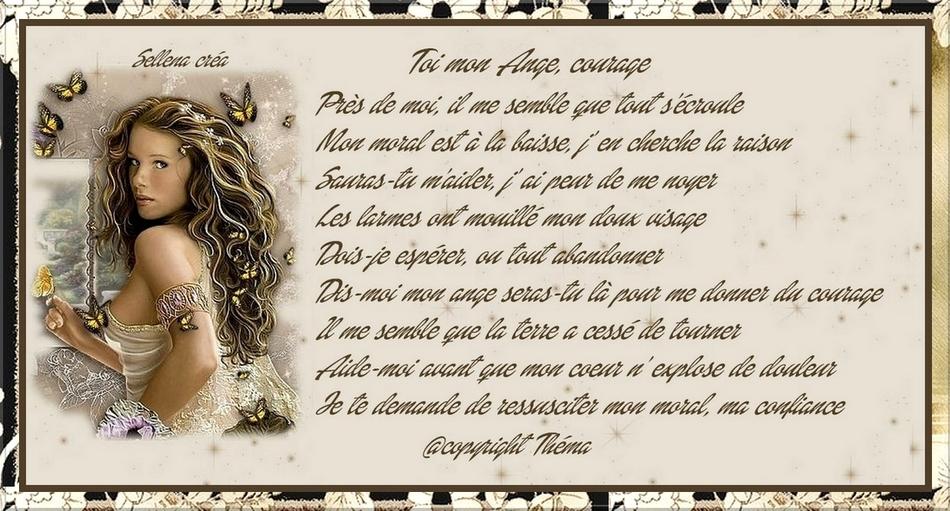 297 -Toi mon Ange, courage