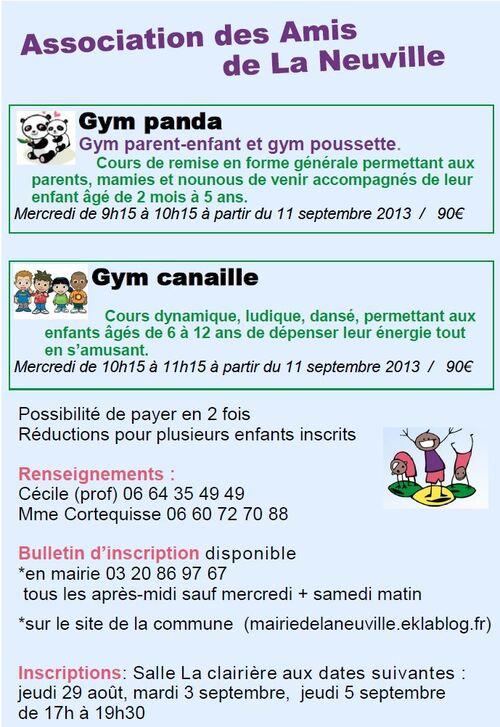Gym à La Neuville