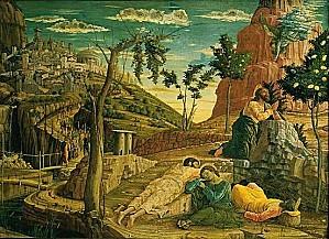 1002369-Andrea Mantegna le Christ au jardin des Oliviers