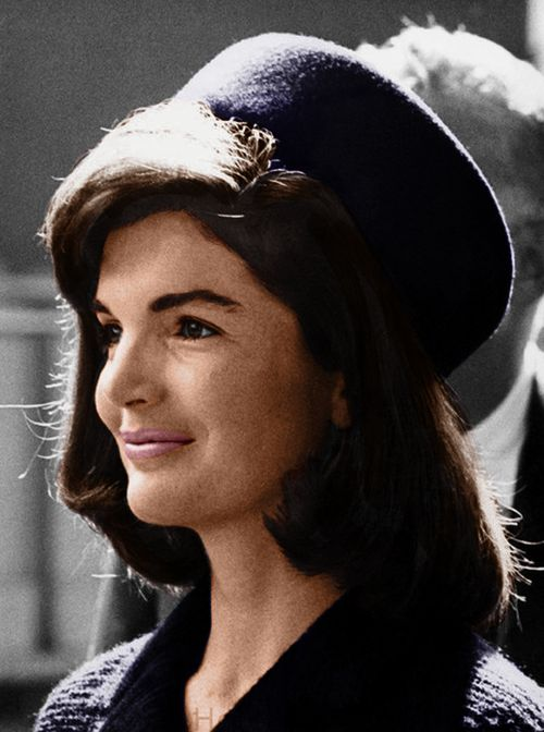 """Even though people may be well known, they hold in their hearts the emotions of a simple person for the moments that are the most important of those we know on earth: birth, marriage and death.""  Jackie Kennedy:"