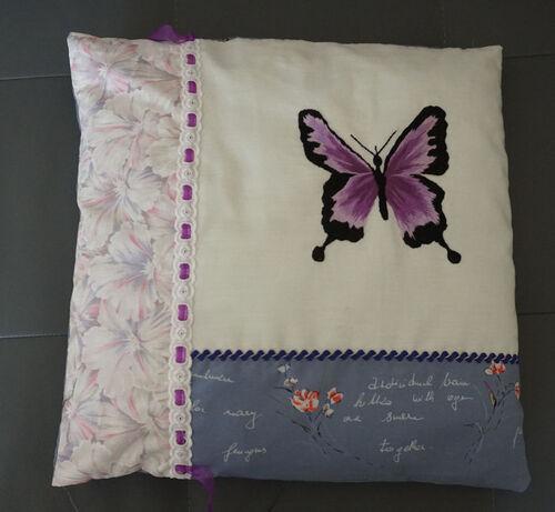 Coussins papillons