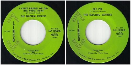 THE ELECTRIC EXPRESS