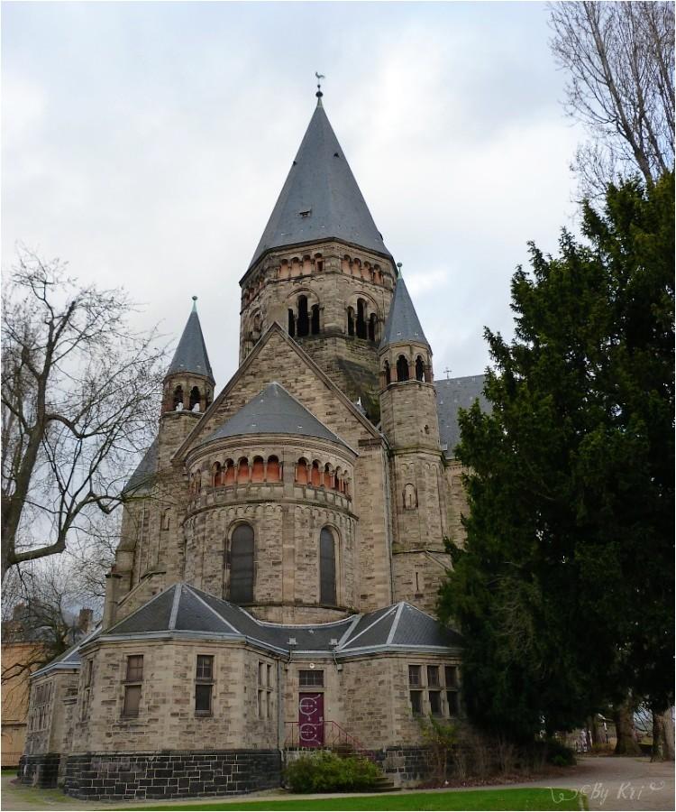 Metz (Fr-57) ~ Le Temple Neuf et son Bestiaire ...