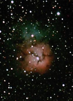 nébuleuse trifide,m8,M20,leca philippe,eos1100d astrodon,astronome amateur,GTF81