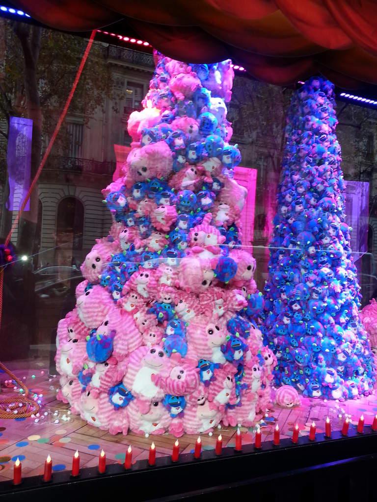 Vitrines de Noël à Paris 2014