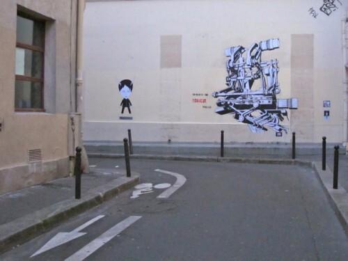 Le Chevalier street-art 36 recyclab