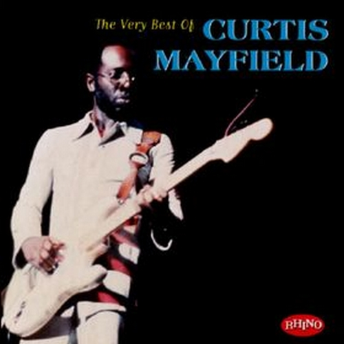 "1997 : CD "" The Very Best Of Curtis Mayfield "" Rhino Records R2 72584 [ US ]"