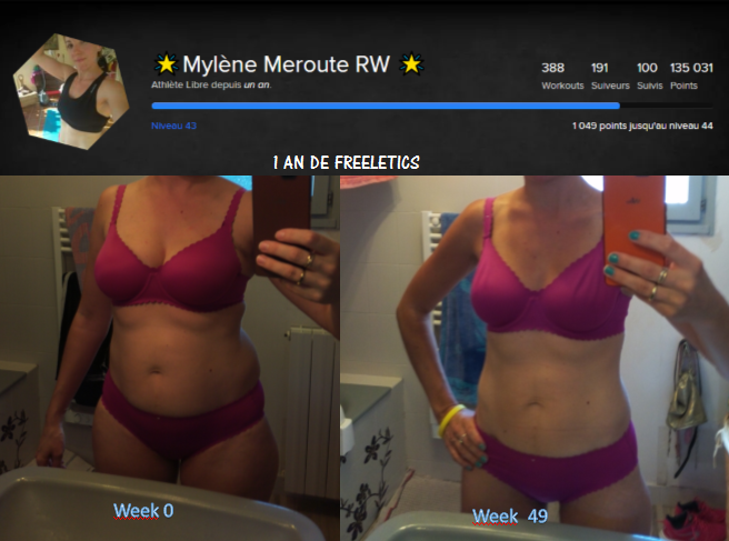 *Freeletics: ma transformation en 50 semaines (1 an)