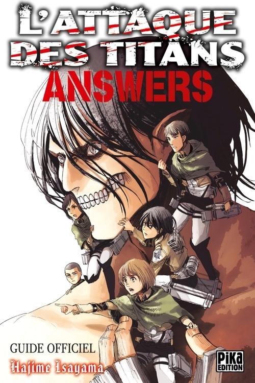 L'attaque des titans - Answers - Hajime Isayama