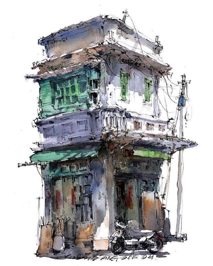 Le Charme des vieilles Villes asiatiques selon  Zhifang Shi (10)