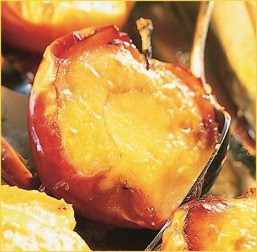 Pommes au four à la crème de citron