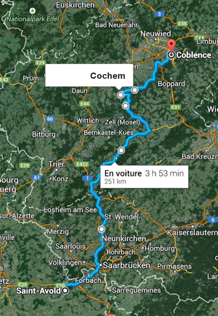 """Croisière """"romantique"""" sur le Rhin ... en diaporamas (2)"""