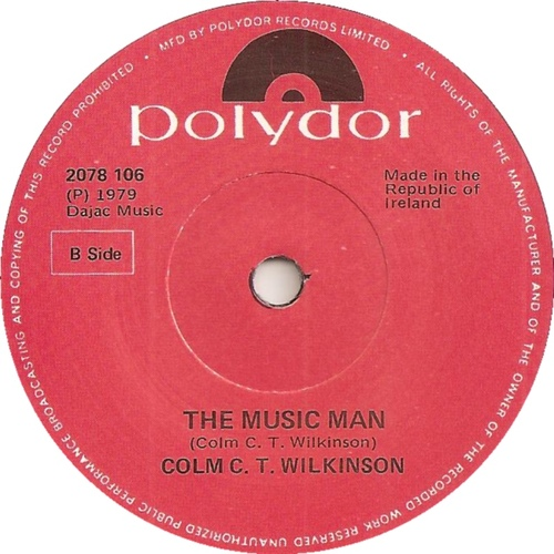 Vinyl -  The Music Man - 1979 - Colm C.T Wilkinson