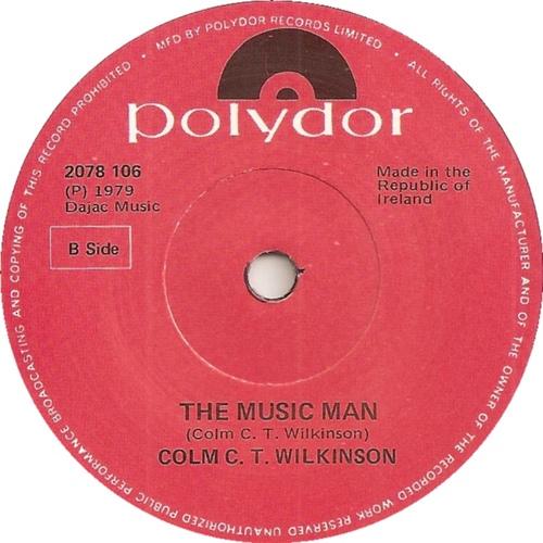 Vinyl -  The Music Man - 1979 - Colm C.T Wilkinson