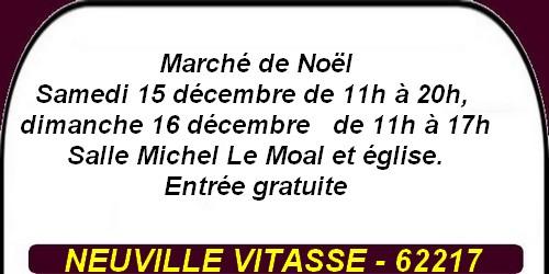 Marché de Noël et autres loisirs à Arras et ses environs - week-end 14 au 16 décembre