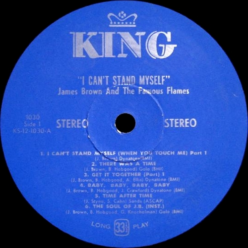 "1968 James Brown & The Famous Flames : Album "" I Can't Stand Myself When You Touch Me "" King Records K 1030 [ US ]"