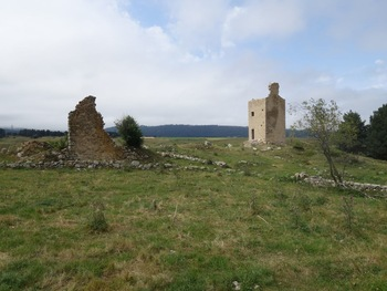 Les ruines de Creu