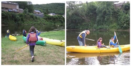 Balade en canoé kayak