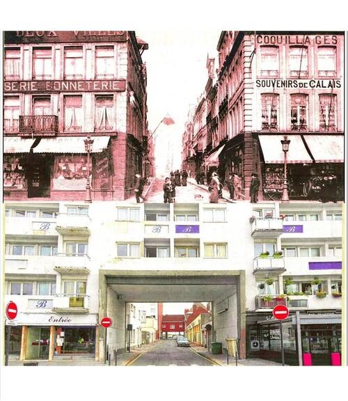 La rue du Havre d'avant-guerre
