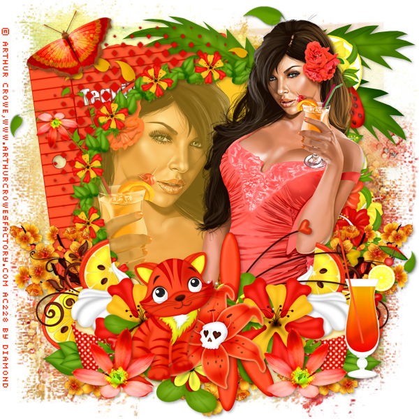 "Atelier scrap kit ""Summer at the beach"" chez Delire2scrap"