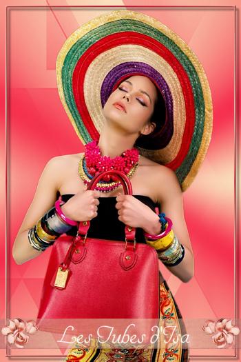 FAC0014 - Tube femme chapeau