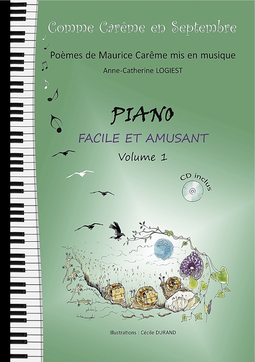 METHODE DE PIANO  Volume 1
