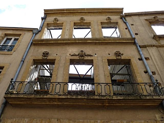 Chantier rue des Allemands 5 Marc de Metz 2011