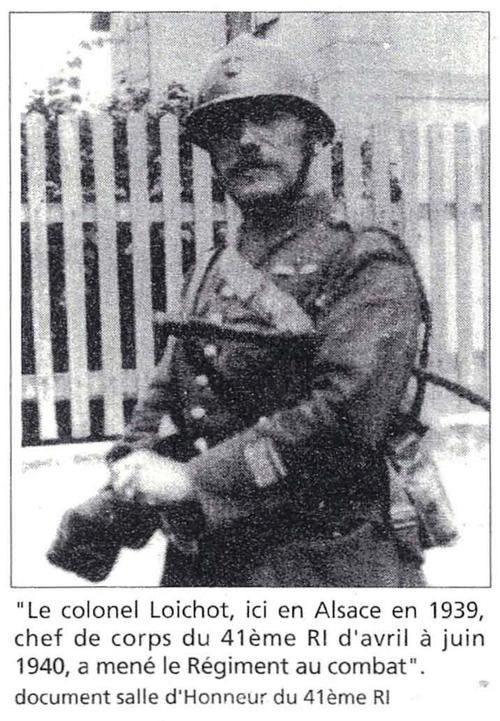 Le 41ème RI dans l'entre Deux-Guerres et la campagne de 1939 - 1940.