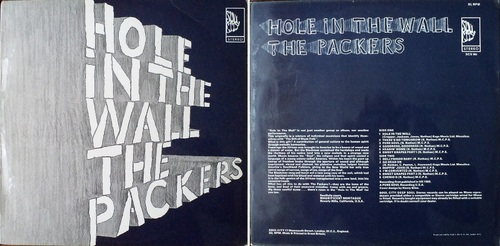 THE PACKERS - FIRST ALBUM 'HOLE IN THE WALL'